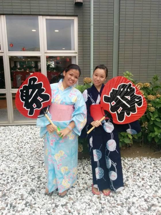 Studying at Matsuyama University Chiba Japan